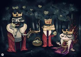 3 kings, cold blood by kevinwalker