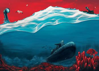 submarine by kevinwalker