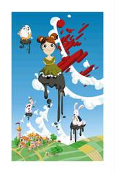 Alice in Wonderland by kevinwalker