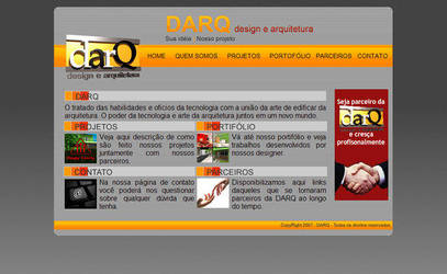 darQ - Site estatico by felipedeodato
