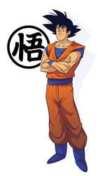 Goku by TeeDizzle