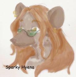 Sparky Hyena by ChickenfoxStudios