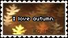 'I Love Autumn' Stamp by KoRn-sTaR60291