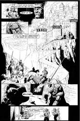 Gloom Issue Zero Page Three by patrickstrange