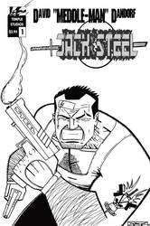 Jack Steel 1 Preview Cover by patrickstrange