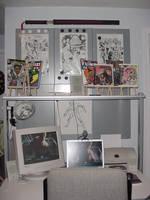 The Golden Child's Desk Pt 1 by patrickstrange