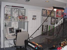 The Golden Child's Desk Pt 3 by patrickstrange