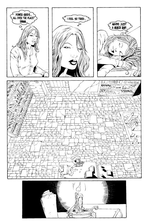 Gloom Issue One Page Four by patrickstrange
