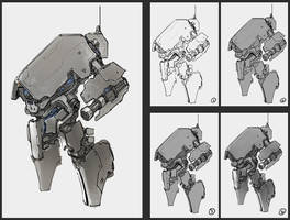 anti-infantry robot by ProgV
