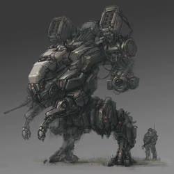 Just another mech by ProgV