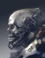skeleton helmet by ProgV