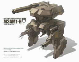 M3AM1 Heavy Assault Mech by ProgV