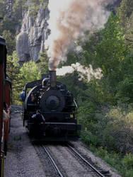 1800 Train, Black Hills SD 2 by LhindyLouRhage