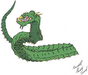 Manda the Worm by Dino-master