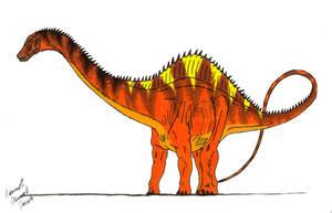 Rebbachisaurus by Dino-master