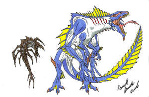 Cloverfield and Parasites by Dino-master