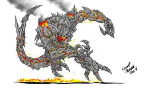 Neo Daikaiju-OBSIDIUS by Dino-master