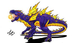 Neo Daikaiju-SUPER GODZILLA by Dino-master