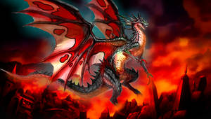 Ryu the Raging Fire Kaiju by Dino-master