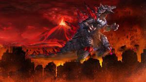 Bagajiran the Super Darkness Kaiju by Dino-master