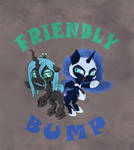 Friendly Bump by LunoLey