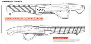 Plasmaguns by MAKS-23