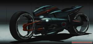 Futuristicbikerenderfinal by MAKS-23