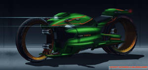 Futuristicbike2render by MAKS-23