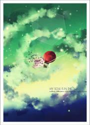My soul is in the sky by currysiek