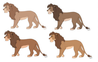 Lion adopts CLOSED by Lummiki