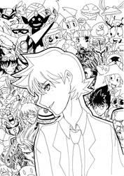 Birthday Drawing by keichishoshuko