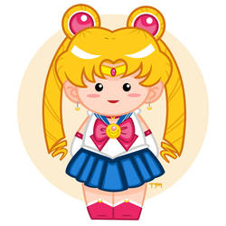 Sailor Moon Doll by PieIsADessert