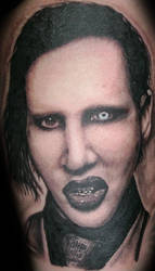 Marilyn Manson by vileangelofdeath