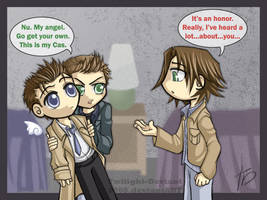 SPN: Stingy Dean by Twilight-Deviant
