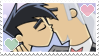 DP: Kissy Face Stamp by Twilight-Deviant