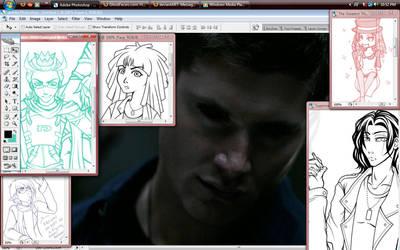 Desktop - Hot Dean by Twilight-Deviant