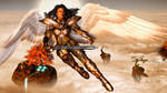 Celestial Guardian by ThreeElves