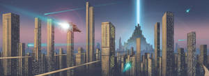 Future cityscape by Nether83