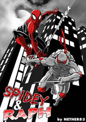 Spidey and Raph by Nether83