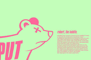 robert, the luddite. by BONUSBOX