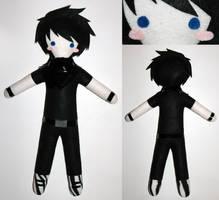 Emo Boy -commission- by AlchemyOtaku17