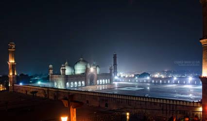 Badshahi Masjid by umerr2000