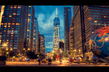 Manhattan New York by umerr2000