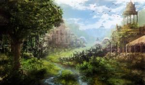 Forgotten  civilization by ReFiend