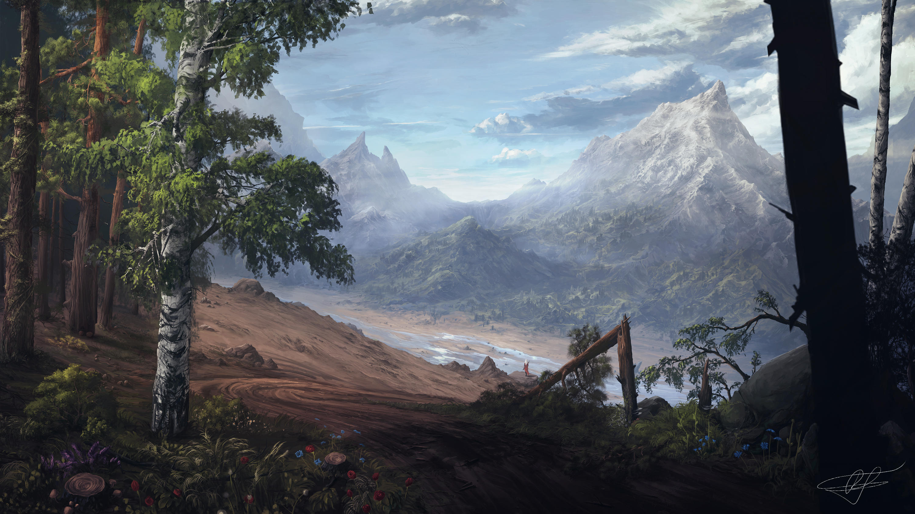 The Valley by ReFiend