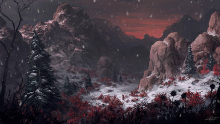 Red rock by ReFiend