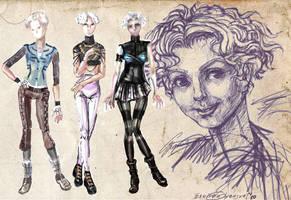 Romantic Cyberpunk by joan789