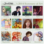 2014 Summary of Art (joan789) by joan789