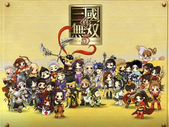 chibis in Dynasty Warrior 6 by DYKC