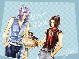 o-0 cake by DYKC